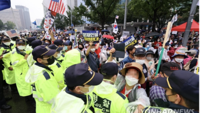 Photo of StopFake отвечает: Митинги в Сеуле не связаны с коронавирусом