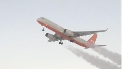 Photo of Видео взлетающего самолета, за которым тянется инверсионный след, снято не в Казахстане